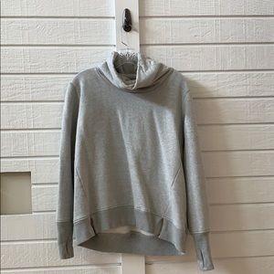 Grey athleta sweatshirt